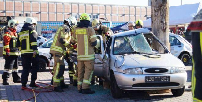 Zum Programm der Rescue Days gehörten auch Rettungsübungen.