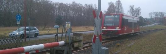 An- und Abreise zur Stadtführung erfolgen mit der Kleinseenbahn.