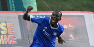 Djibril N'Diaye hat den Siegtreffer für die TSG erzielt. Foto: Matthias Schütt