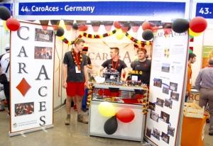 Die CaroAces haben auf der spanischen Ferieninsel ordendlich Flagge gezeigt.
