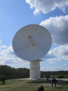 Das neueste Antennensystem des DLR Neustrelitz.