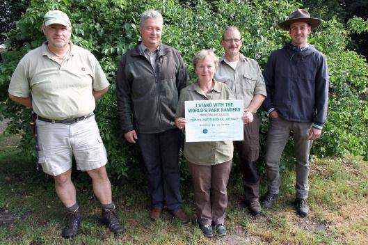 Die Ranger des Müritz-Nationalparks freuen sich an ihrem Ehrentag auf Besucher. Foto: Nora Künkler/NPA