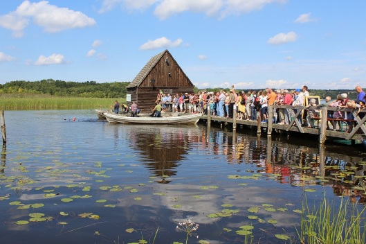 Mit dem Fischzug morgen um 11 Uhr beginnt das Fest. Foto: Fischerei