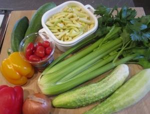 Gemüsepasta