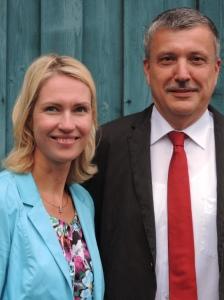 Manuela Schwesig und Andreas Butzki