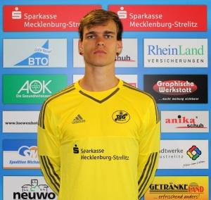 Ersatztorhüter Sven Lissek hinterließ einen guten Eindruck. Foto: M. Schütt