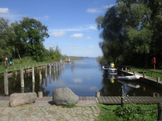 In Wesenbergs Stadthafen ist nach Saisonende wieder Ruhe eingezogen.