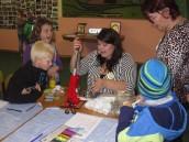 Sozialpädagogin Katharina Behnke, Leiterin des Klubs, kann gut mit den Kindern umgehen.