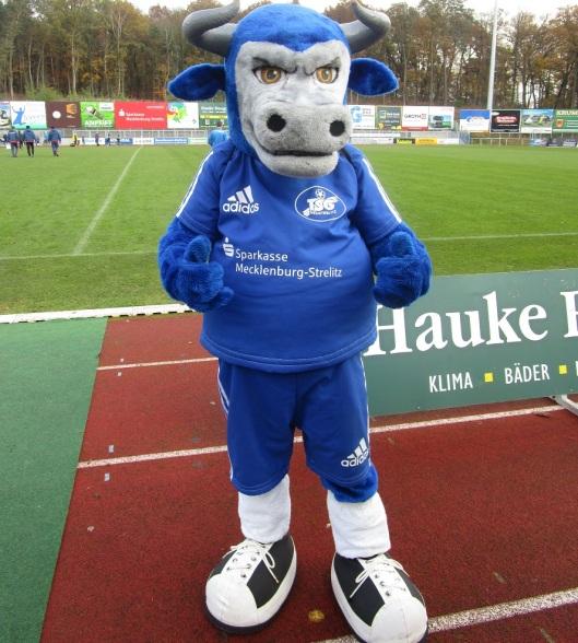 TSG-Maskottchen Mecki würde sich schon über ein Unentschieden gegen die Sachsen aus Leipzig freuen.