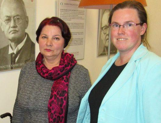 Olkga Herzogin zu Mecklenburg. Dr. Neda Donat und Sandra Lembcke haben einen guten Draht zueinander.