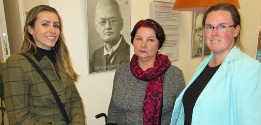 Olkga Herzogin zu Mecklenburg. Dr. Neda Donat und Sandra Lembke haben einen guten Draht zueinander.