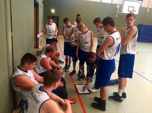 Die U16-Carolinum Baskets haben in Rostock zwei Siege eingefahren. Foto: WSV