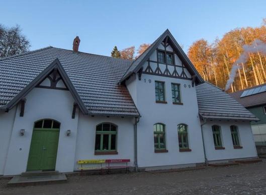 Das Jugendwaldheim Steinmühle. Foto: Nationalpark