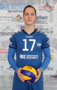 Hat eine gute leistung abgeliefert: Diagonalspieler Philipp Fleck. Foto: Schütt