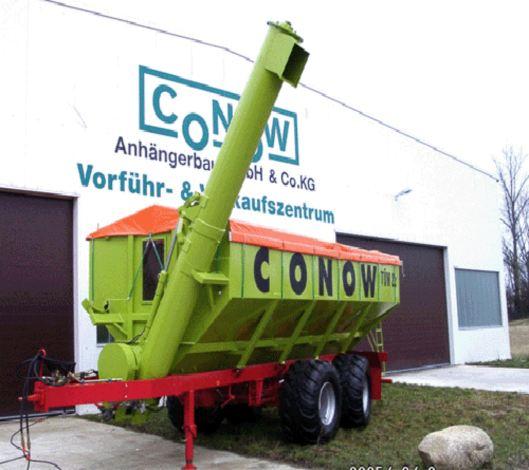 Der Tandemüberladewagen TW 22 aus Conow. Foto: Hängerbau