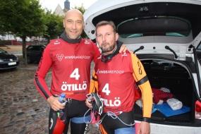 Sven Truderung (links) mit Thomas Rademacher