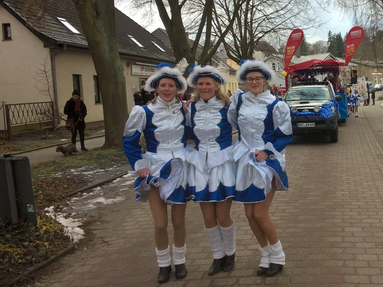 Rosenmontag in Feldberg Narren vom FKK feiern eine