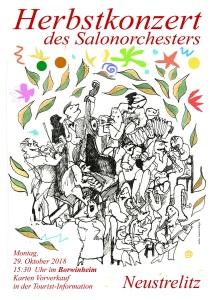 Plakat Herbstkonzert 2018